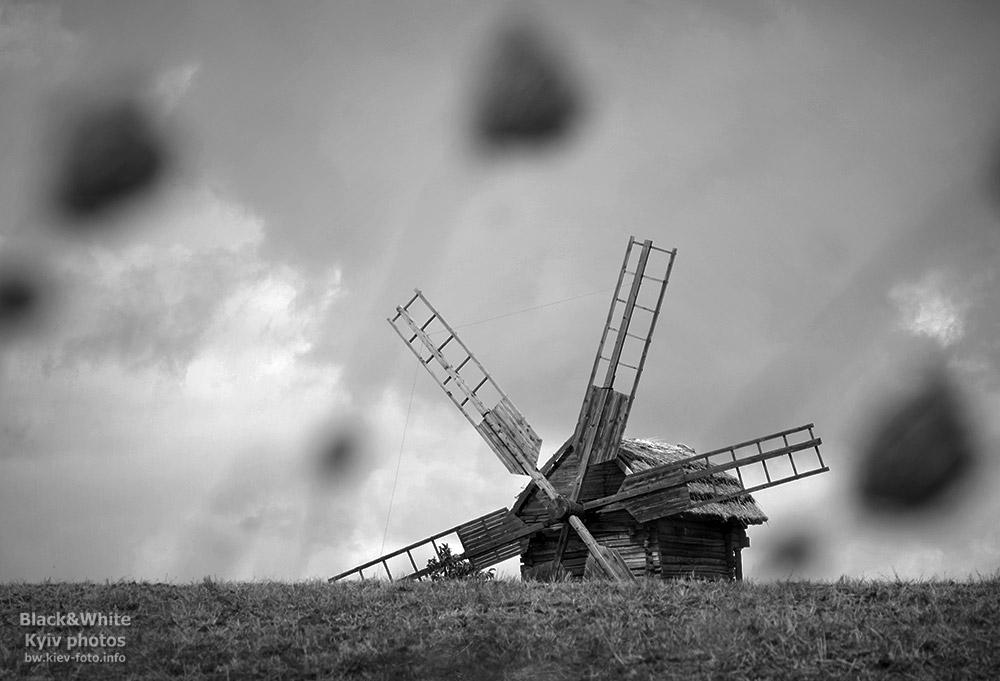 Мельница в Пирогово. Windmill in Pirogovo