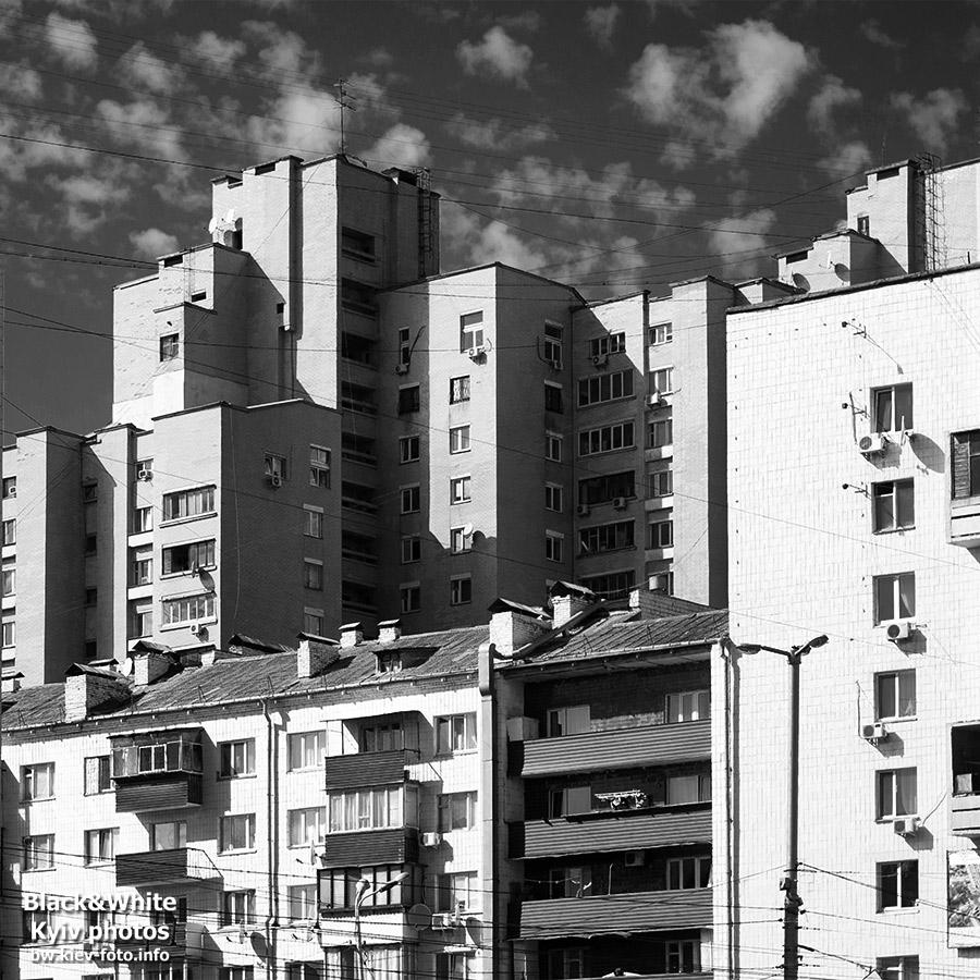 Три советских дома. Three Soviet home