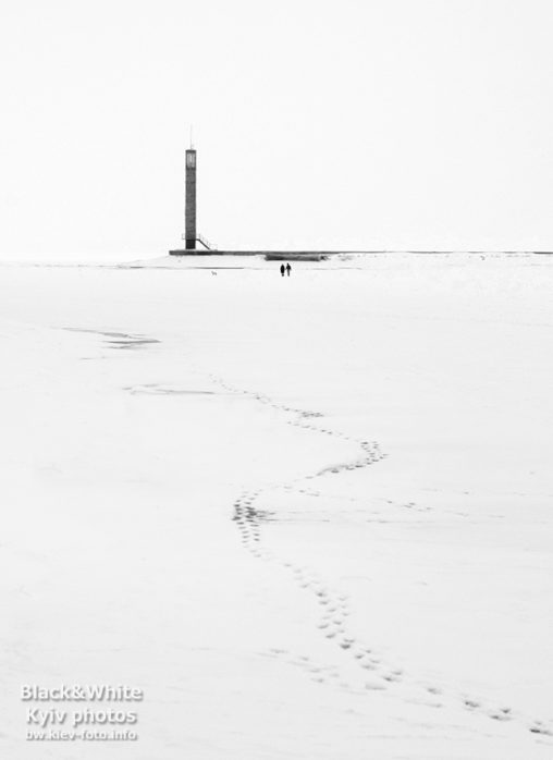Зимнее Киевское море. Winter Kiev Sea