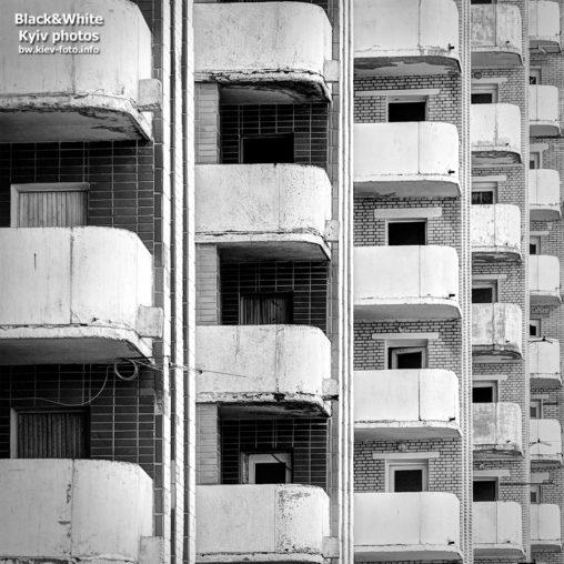 Балконы на Стадионной в Киеве