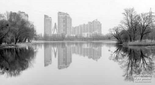 В отражении озера Вербное