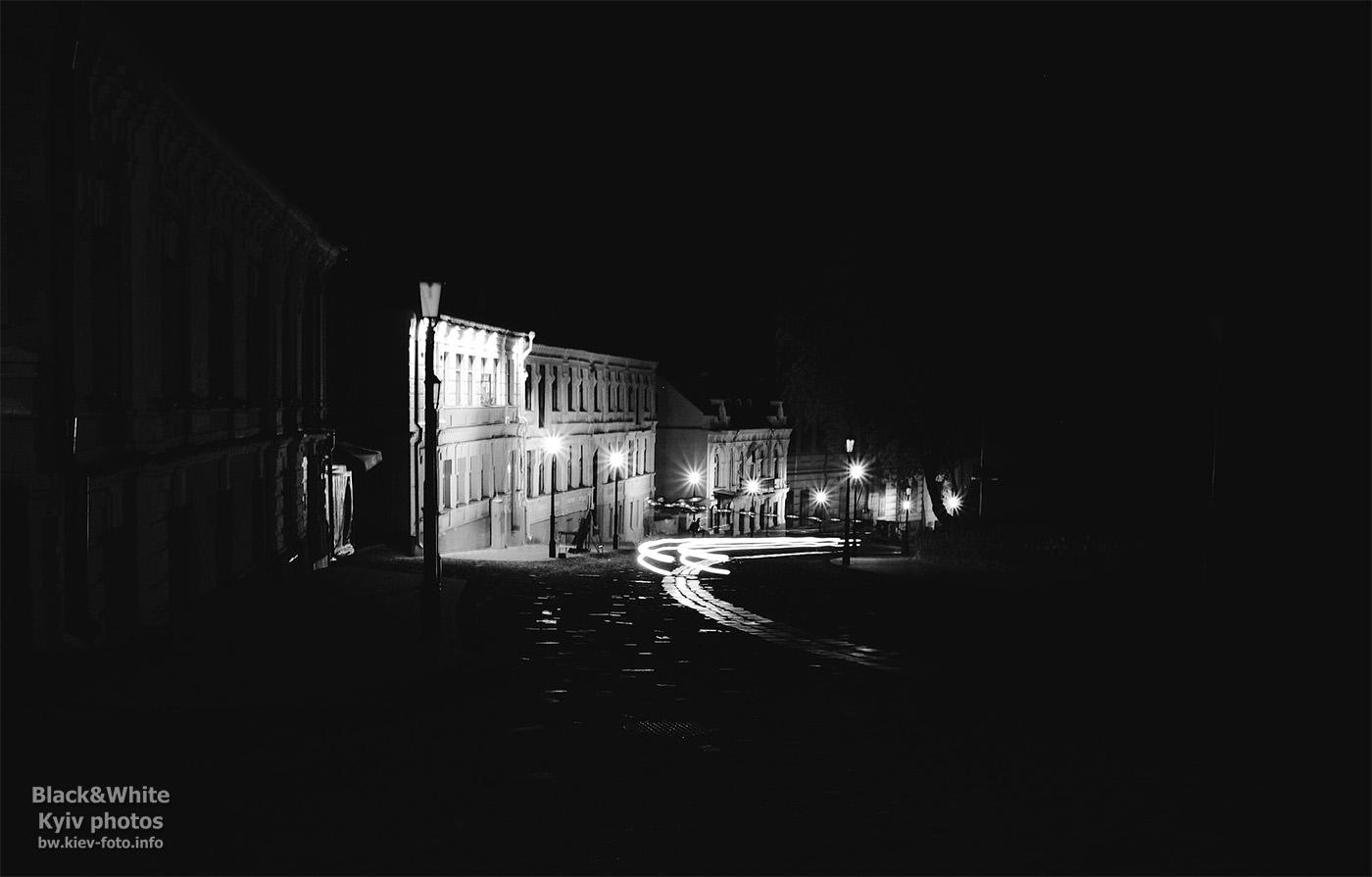 Ночной Андреевский спуск