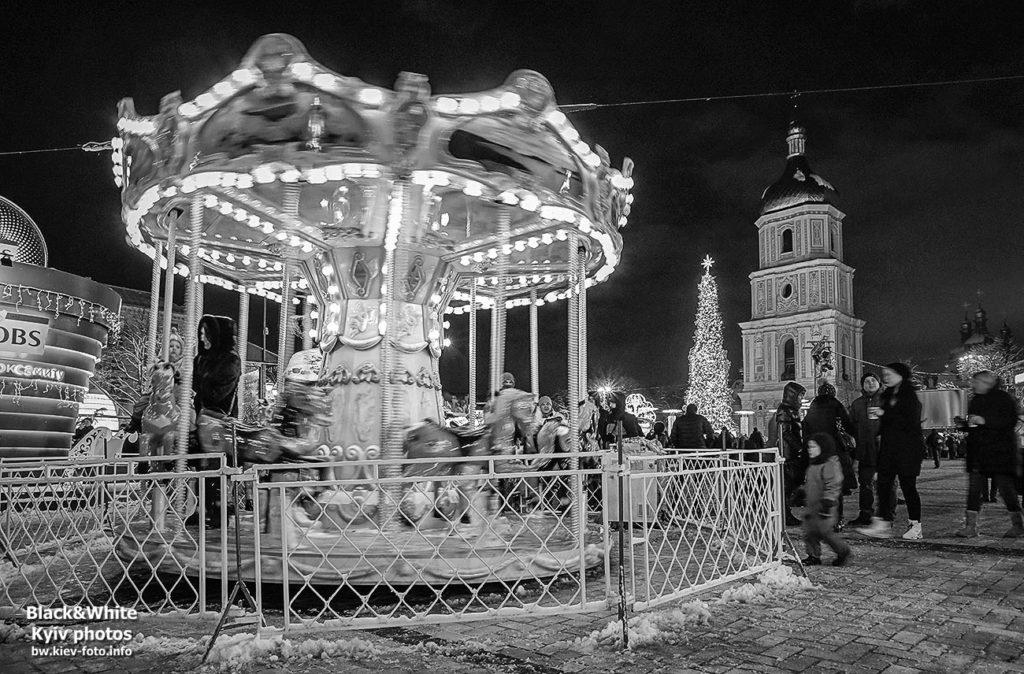 Новогодний городок на Софии 2019
