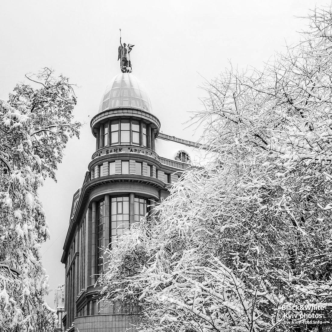 Прогулка по зимней Институтской