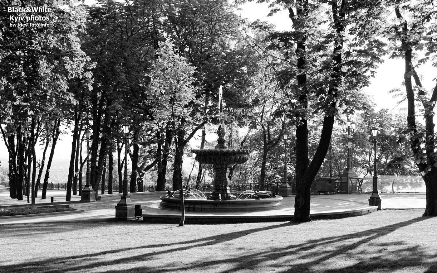 Новый фонтан на Владимирской горке