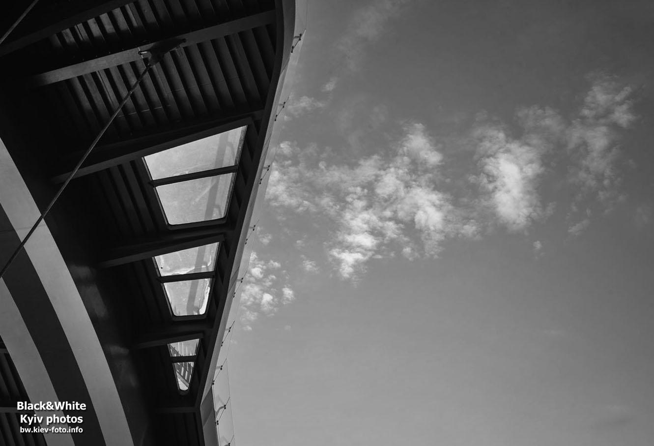 Фотографии нового моста на Владимирской горке в Киеве
