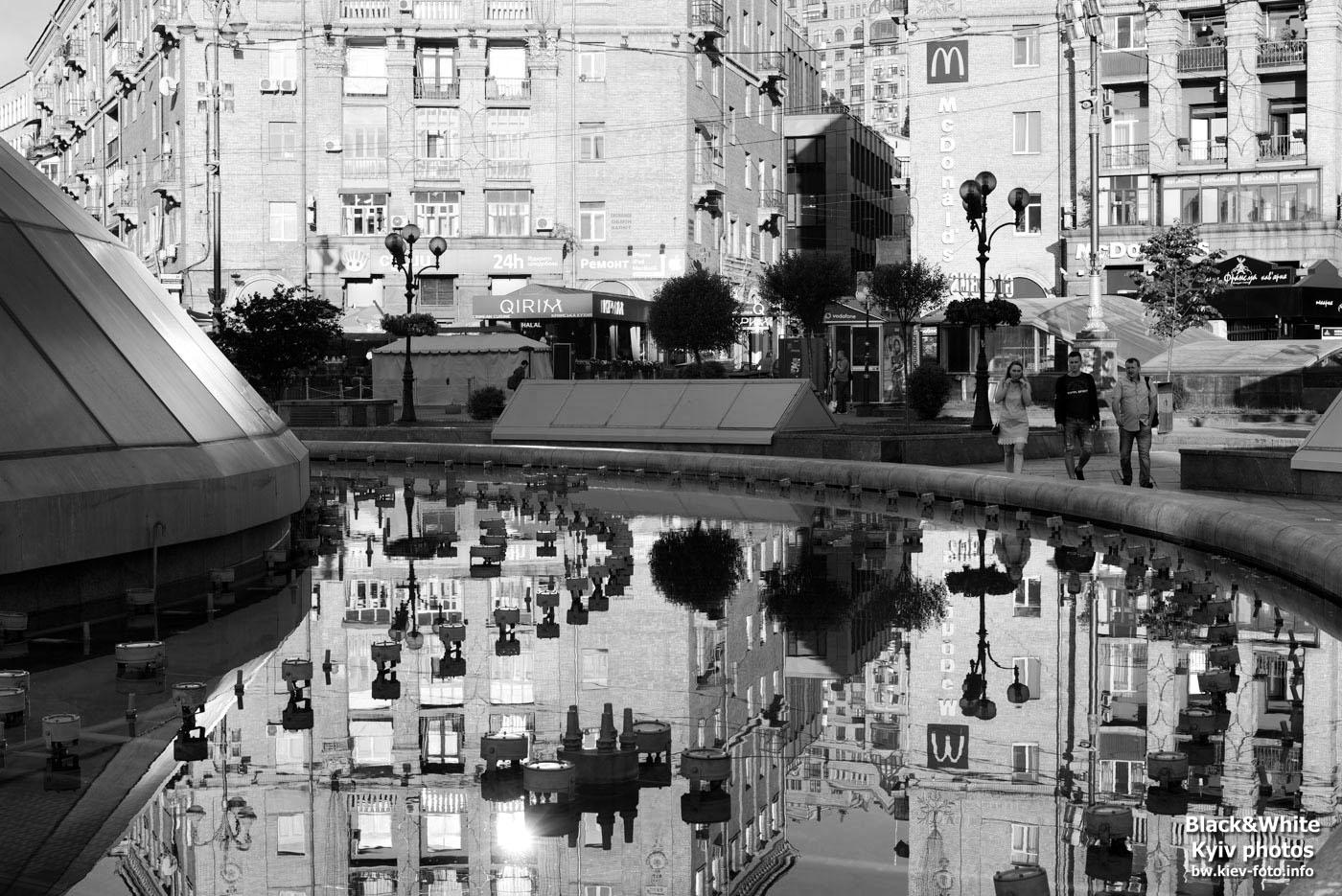 Утроенний Киев: город просыпается