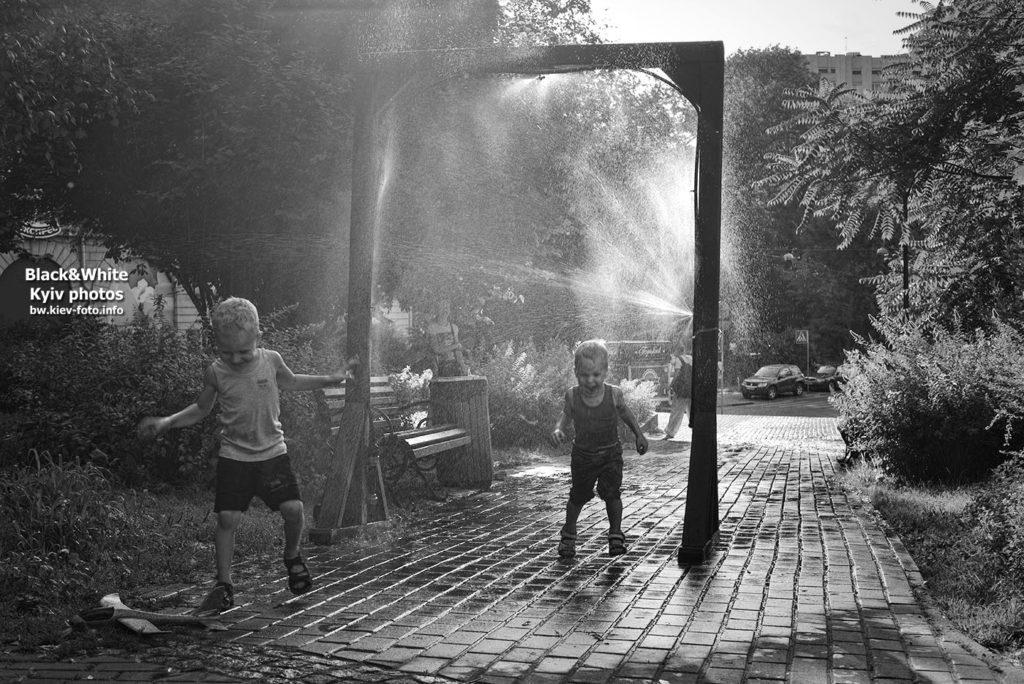 Освежающая рамка в парке